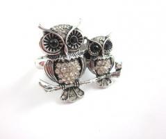 Eulen Vintage Ring