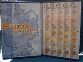 Eurosatz Bundesrepublik Deutschland 2002