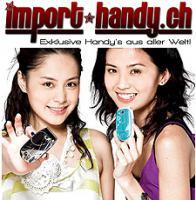 Exklusive Handys - www.Import-Handy.ch