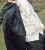 Exklusiver Designer-Hochzeitsanzug Gr. 44/46