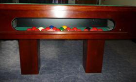 Foto 5 ''Exklusiver Henzgen Poolbillard-Tisch aus Mahagoni + Abdeckplatte''