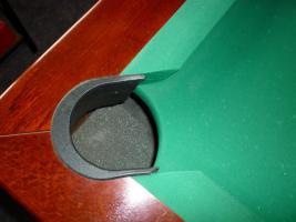 Foto 9 ''Exklusiver Henzgen Poolbillard-Tisch aus Mahagoni + Abdeckplatte''