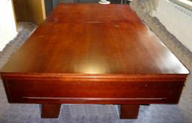Foto 12 ''Exklusiver Henzgen Poolbillard-Tisch aus Mahagoni + Abdeckplatte''