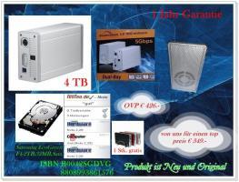 Externe Festplatte 4TB + GESCHENK