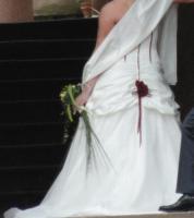 Foto 2 Extravagantes Brautkleid