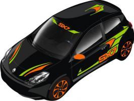 Extrem sportliches Rallye-Design -SX7- Car-Styling