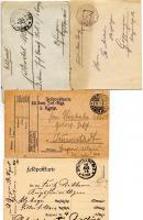 FELDPOSTKARTEN 1914 BIS 1918