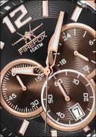 Foto 2 FIREFOX FALCON Edelstahl Chronograph FFS185-102 rosevergoldet