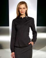 FRANSA - Bluse mit Pailletten schwarz Gr. L - OVP - NEU