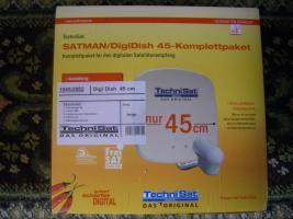 Fabrikneue Technisat-Satellitenanlage (Komplettpaket)