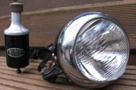 Foto 2 Fahrrad Lichtanlage Bosch. Baujahr 1950.