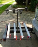 Foto 2 Fahrradträger für 4 Fahrräder auf AHK