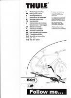 Fahrradträger für Nissan Primera P12