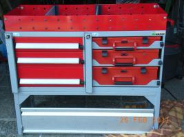 Foto 2 Fahrzeugeinrichtung Fahrzeugeinbau Fahrzeugregal Bott Vario