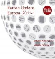 Falk Karten Update Europa 2011-1 das Neusten für M +F