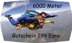 Fallschirmsprung Gutschein - Bayern - Österreich