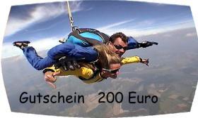 Foto 2 Fallschirmsprung Gutschein - Bayern - Österreich
