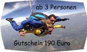 Foto 4 Fallschirmsprung Gutschein - Bayern - Österreich
