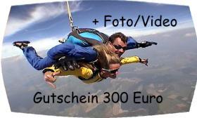 Foto 6 Fallschirmsprung Gutschein - Bayern - Österreich