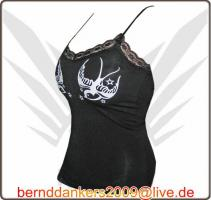 Foto 2 FancyBeast Party Clubwear Girl Shirt mit Spaghettiträger   NEU!