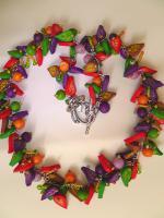 Foto 3 Farbenfröhliche Kette aus Fimo