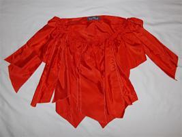 Fasching/ Karneval Bluse mi Schleifen rot