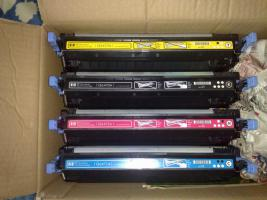 Fast leere (max. 15%) Original Tonerkartuschen für HP 3600 Serie zum nachfüllen
