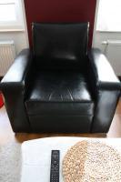Foto 4 Fast neue Echtledercouch mit Loungesessel abzugeben