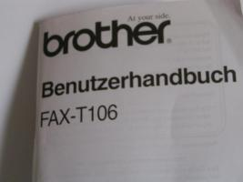 Foto 3 Fax-Brother T106