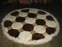 Fellteppich Teppich