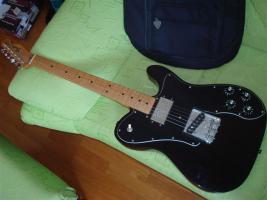 Fender 72 Telecaster Custom MN BK (inkl. Deluxe Gigbag)