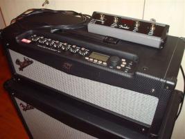 Fender Mustang V Head + 412 Box - neuwertig!!!