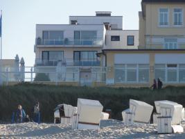 Fereinwohnung Wangerooge direkte Strandlage