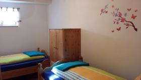 Zweites Schlafzimmer mit 2 Einzel Betten