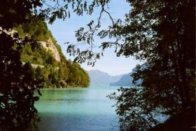 Foto 10 Einfahrt Brienzersee Interlaken Ost