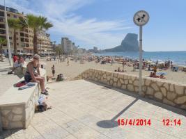 Foto 3 Ferienappartement an der Costa Blanca in Calpe direkte Strandlage