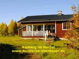 Ferienhaus Blockhütte mit Kamin und Sauna in Lappland/Schweden