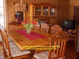 Foto 2 Ferienhaus Blockhütte mit Kamin und Sauna in Lappland/Schweden
