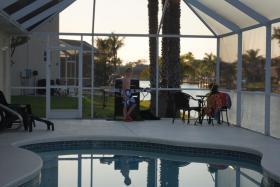 Foto 8 Ferienhaus in Cape Coral/ Florida am 'Kanal mit Golfzugang, Boot mieten mgl