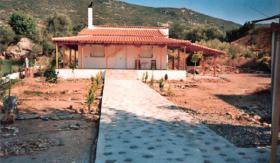 Ferienhaus mit Kamin / Griechenland