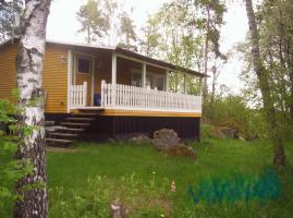 Ferienhaus mit Sauna, Boot und Angelrecht