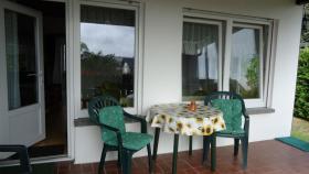 Möblierte Terrasse Mit Ihrer eigenen Eingangstür