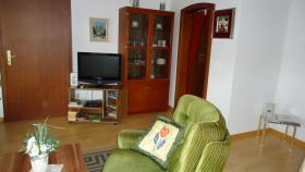 Wohnzimmer, SAT-TV Flachbildschirm
