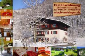 Ferienwohnung in Meiringen (Hasliberg), FeWo, Berner Oberland, auch Haustiere (Hunde, Katzen) willkommen, WLAN