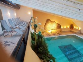 Schwimmbad mit 3 Saunen und Whirlpool