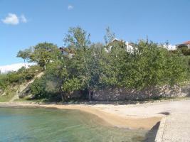 Ferienwohnung direkt am Meer in Rtina MIletici bei der Insel Pag, Zadar 30 km