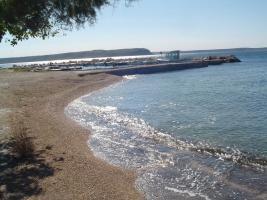 Foto 4 Ferienwohnung direkt am Meer in Rtina MIletici bei der Insel Pag, Zadar 30 km