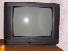 Fernseher, 52cm, Fernbedienung, auch Scartanschluss