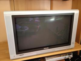 Fernseher - TV 100HZ von Philips 32 Zoll - Real Flat Black Line