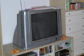 Fernsehgerät geschenkt!
